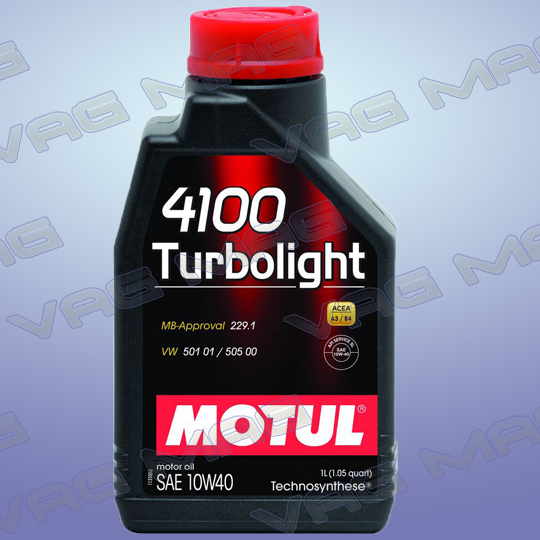 Олива моторна MOTUL 4100 TURBOLIGHT 10W40 (1L)