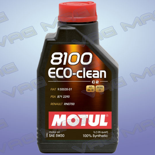 Олива моторна MOTUL 8100 ECO-CLEAN 5W30 (1L)