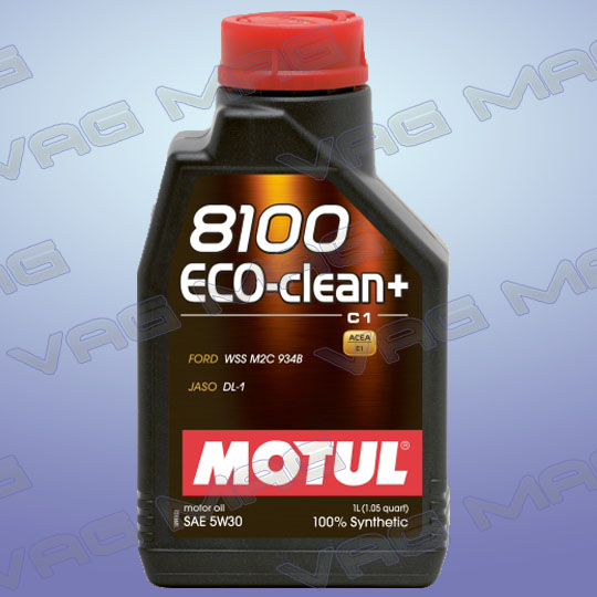 Олива моторна MOTUL 8100 ECO-CLEAN+ 5W30 (1L)