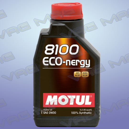 Олива моторна MOTUL 8100 ECO-NERGY 0W30 (1L)