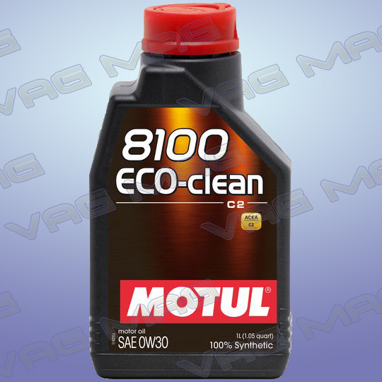 Олива моторна MOTUL 8100 ECO-CLEAN 0W30 (1L)