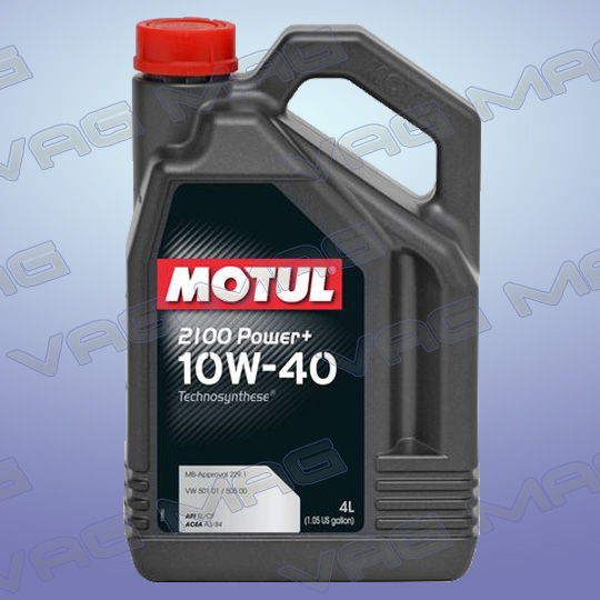 Олива моторна MOTUL 2100 POWER+ 10W40 (4L)